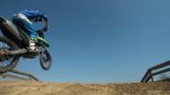 HD Super Slow-Mo: Motocross Dirt Jump video