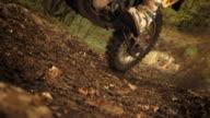 HD Super Slow-Mo: MX Rider Speeding Uphill video