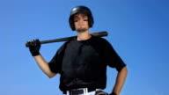 HD Super Slow-Mo: Portrait Of A Baseball Batter video