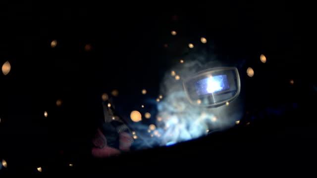HD Super Slow-Mo: Professional Welder video