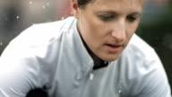 HD Super Slow-Mo: Vital Woman In The Rain video