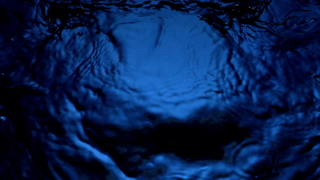 HD Super Slow-Mo: Water Ripples video