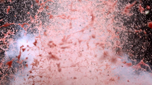 HD Super Slow-Mo: Watermelon Explosion video