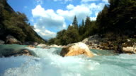 HD Super Slow-Mo: Whitewater River video