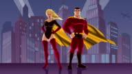 Superhero Couple 2 video