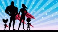 Superhero Family video