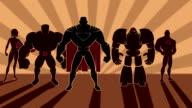 Superhero Team video