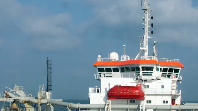 Superstructure and Navigational Bridge of Offshore Special Purpose Dredger Ship video