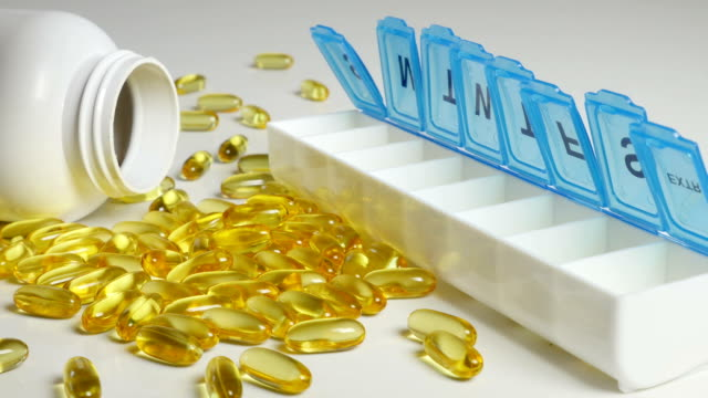 Supplement Pills Added to Pill Box video