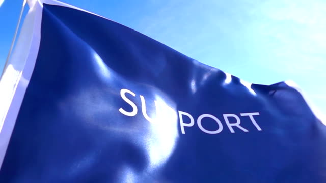 Support Flag High Detail video