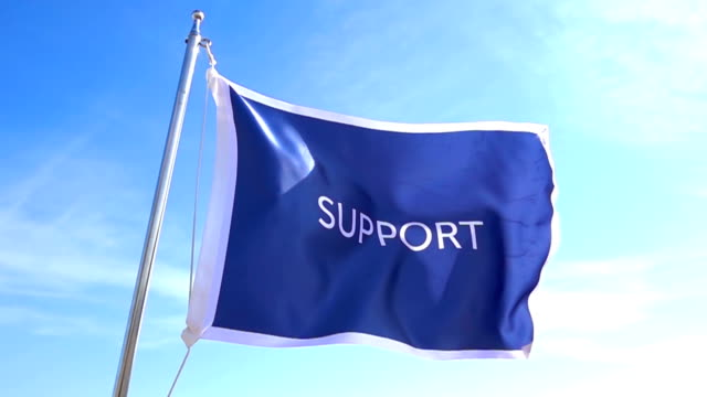 Support Flag video