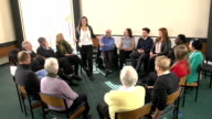 Support Group Circle - Girl shares with other people video