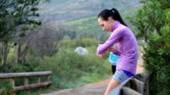 Supporting my female running friend video