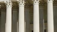 U.S. Supreme Court Columns Tilt Up video