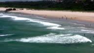 Surf beach video