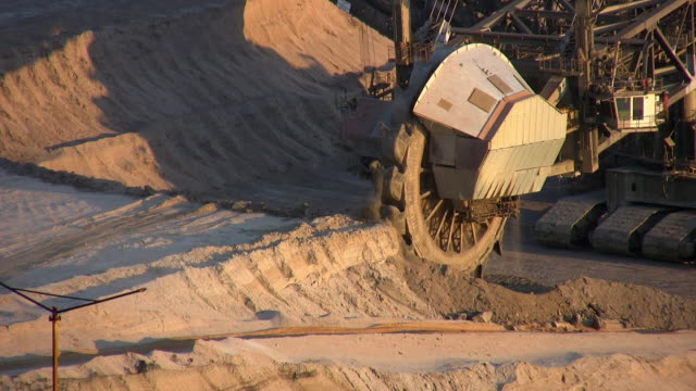 Surface mining video