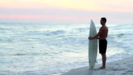 Surfer At Twilight video
