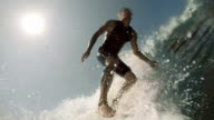 Surfing in California video
