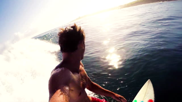 POV Surfing in Slow Motion video