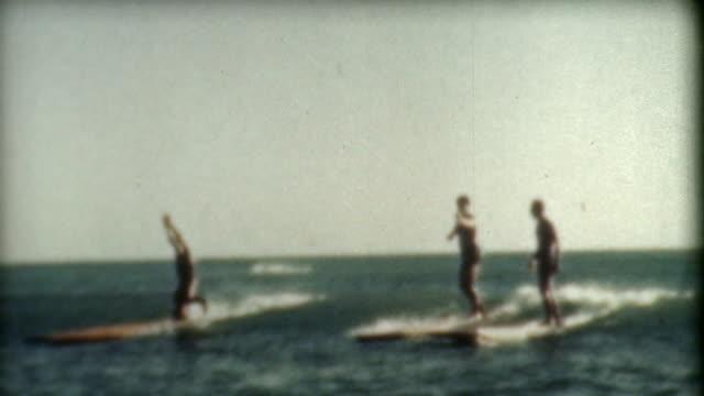 Surfing Tricks 1930's video