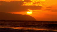 Surfing under the sunset video
