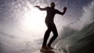 surfing video