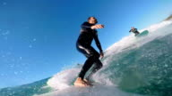surfing with friends video