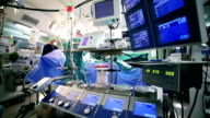 Surgeon monitoring indicators on cardiopulmonary bypass displays video