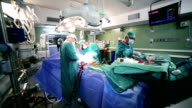 Surgeons in operating room video