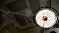 surgical lamps in operating room video