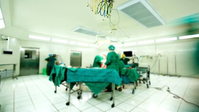 Surgical Team Operating video