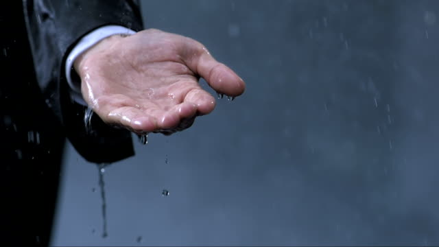 Surrendering To The Rain (Super Slow Motion) video