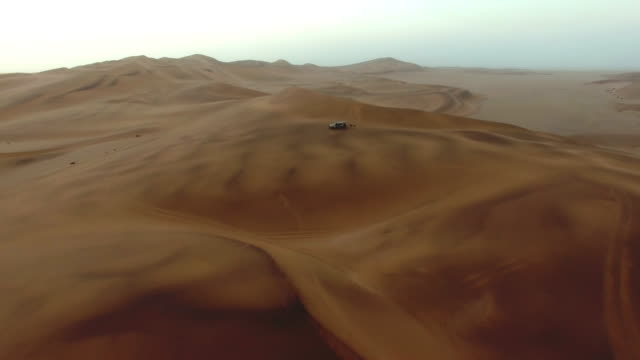 Surrounded by desert sands video