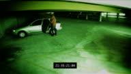 Surveillance - Parking Garage Theft video