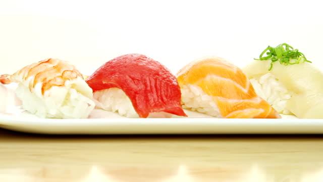 Sushi Macro video