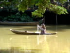 Sustainable Lifestyle: Fishing from Home Build Canoe video