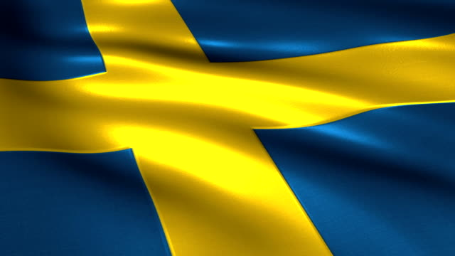 Sweden  charming flag video