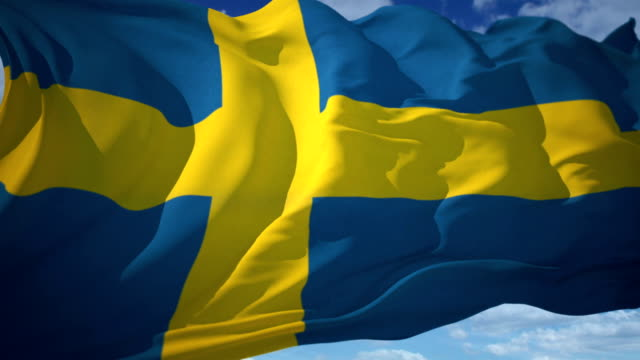 Sweden Flag video