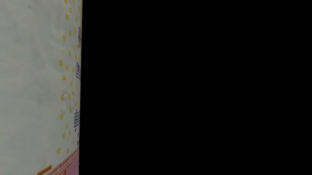Sweden Krona banknote Transition video