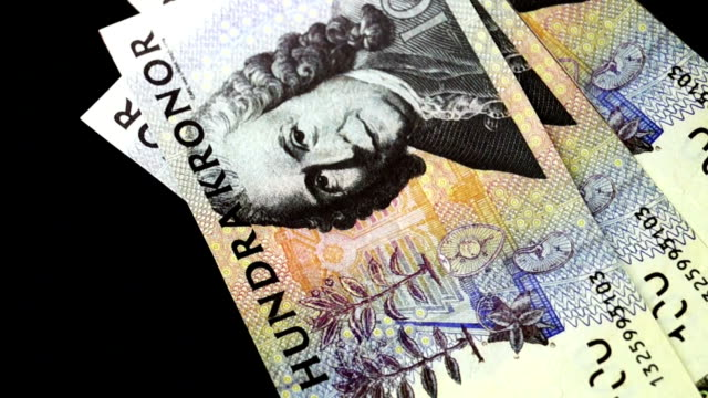 sweden money kronor counting video