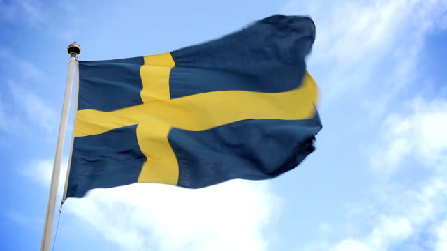 Swedish flag video
