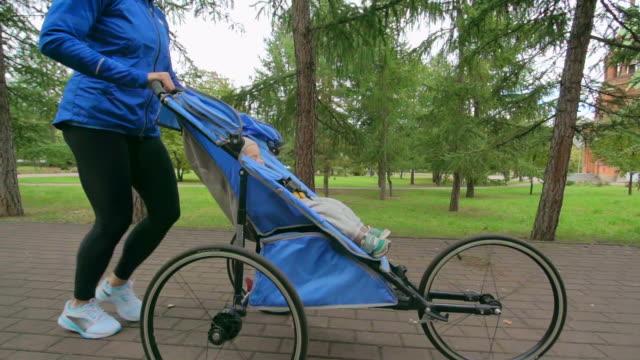 Sweet Dreams in Jogging Stroller video