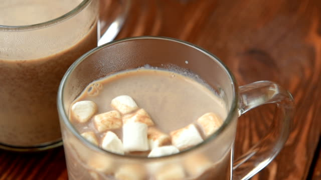 Sweet hot chocolate with ginger video