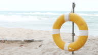Swim ring beach video