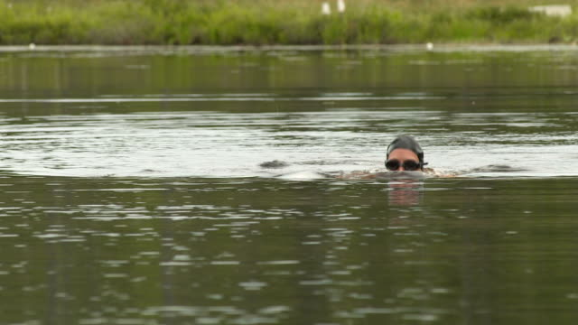 swimmer of the lake video