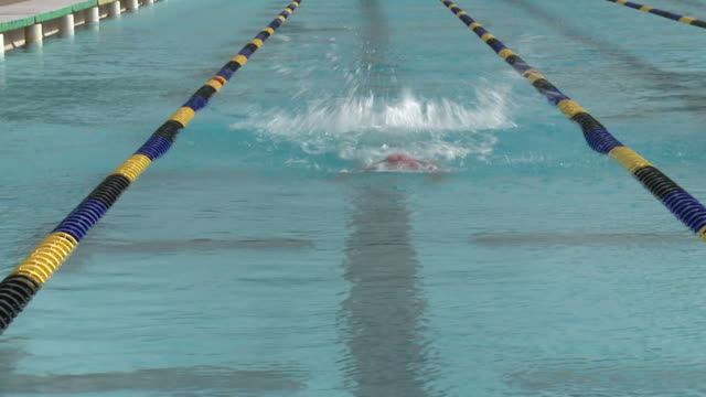 Swimmer video