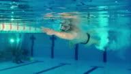 HD: Swimmer video