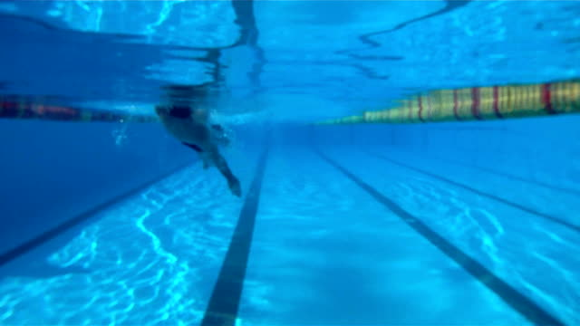 Swimming Backstroke video