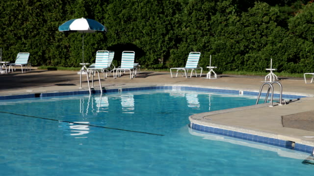 Swimming Pool and Deck, No People - 3 scenes video