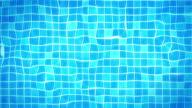 Swimming Pool Background Loop - Under water tiles (HD) video
